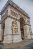 Paris - Arc de Triomphe. The Arc de Triomphe de l`Étoile Stock Photos