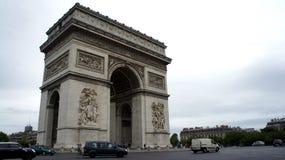 Paris Arc De Triomphe Stock Photo