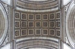 Paris, Arc de Triomphe Royalty Free Stock Image