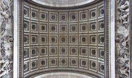 Paris, Arc de Triomphe Stock Images