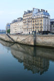 Paris architecture, Seine river Stock Photography