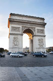 Paris, Arco do Triunfo Foto de Stock