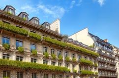 Paris arkitektur Royaltyfria Bilder