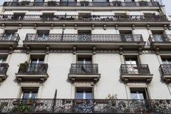 Paris arkitektur Arkivbild