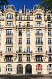 Paris arkitektur Royaltyfri Fotografi