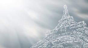 Paris art background Stock Photo