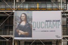 Paris. Arts Centre Pompidou. Stock Images