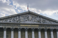 Paris assemblee nationale Royalty Free Stock Photography