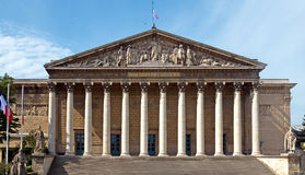 Paris - Assemblee Nationale Stock Images