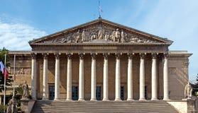 Paris - Assemblee Nationale stock images