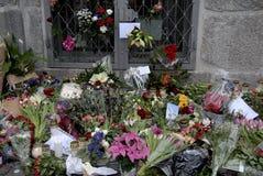 PARIS ATACOU Imagem de Stock