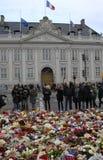 PARIS ATACOU Imagens de Stock