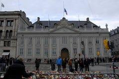 PARIS ATACOU Foto de Stock