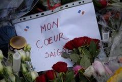 PARIS ATACOU Fotos de Stock