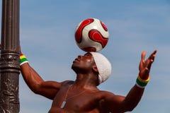 paris Atração com a bola Foto de Stock Royalty Free