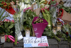 PARIS ATTACKED Stock Photography