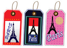 Paris-Aufkleber Lizenzfreie Stockfotos