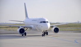 Paris,august 21-Airfrance flight from airport in P Royalty Free Stock Image