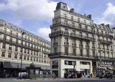 Paris,August 16,2013-Buildings royalty free stock photography