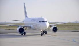 Paris august flyg 21-Airfrance från aiport i Paris Royaltyfri Bild