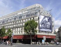 Paris,August 17,2013-Galeries La Fayette Stock Images