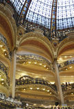 Paris,August 17,2013-Galeries La Fayette interior Royalty Free Stock Images