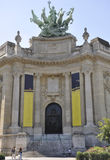 Paris,august 20,2013-Grand Palais des Beaux Arts in Paris Royalty Free Stock Photos