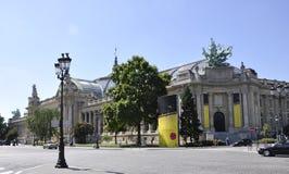 Paris august 20,2013-Grand Palais i Paris Fotografering för Bildbyråer
