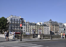 Paris,August 15,2013-historic buildings stock image