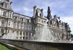 Paris,August 17,2013-Hotel de Ville in Paris Royalty Free Stock Photography