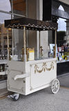 Paris,august 18-Icecream Stall at Angelina Confectionery in Paris Royalty Free Stock Image