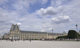 Paris,august 18,2013-Louvre Museum royalty free stock images