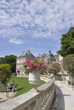 Paris,August 15,2013-Luxembourg Garden in Paris Stock Photography