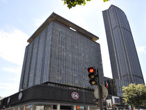 Paris,August 17,2013-Montparnasse Tower Stock Photo