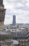 Paris,August 16,2013-Montparnasse Tower Royalty Free Stock Photo