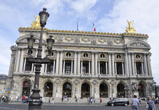 Paris,August 17,2013-Opera Garnier royalty free stock image