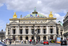 Paris,August 15,2013-Opera Garnier Building in Paris Stock Images