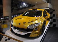 Paris,august 20-Renault Car in Showroom in Paris Royalty Free Stock Image