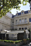 Paris august 20-Restaurant  Arkivfoton