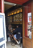 Paris,August 19,2013-Restaurant in Montmartre in Paris Stock Image