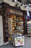 Paris,august 18-Shop of Delices and Souvenirs de France in Paris Royalty Free Stock Image