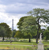 Paris,august 18,2013-Tuileries Garden in Paris France royalty free stock images