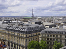 Paris, August16,2013-View from above Stock Photo