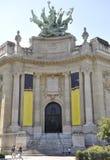 Paris Augusti 20,2013-Grand Palais i Paris Arkivfoto