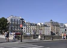 Paris Augusti 15,2013 historiska byggnader Fotografering för Bildbyråer