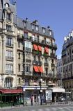 Paris Augusti 16,2013 historiska byggnader Fotografering för Bildbyråer