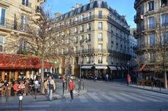 Paris automnal Photo libre de droits