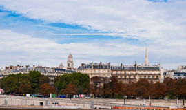 Paris in autumn Royalty Free Stock Photos