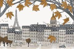 Paris in autumn Royalty Free Stock Photo