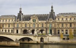 Paris in an autumn time. Royalty Free Stock Photography